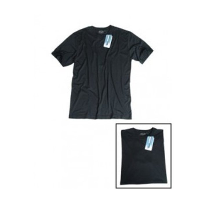 T-shirt Coolmax Black
