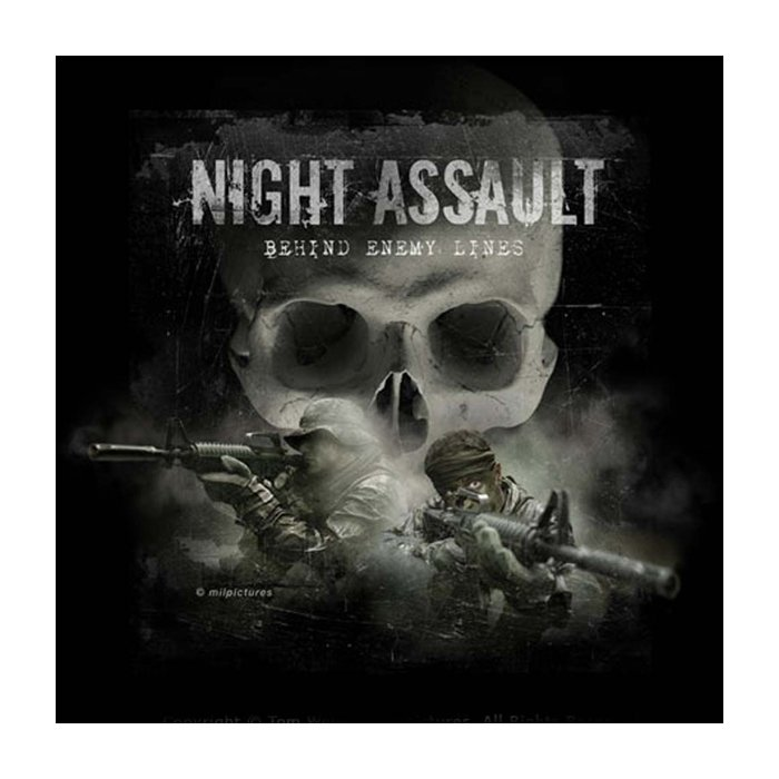 T Shirt Night Assault Info