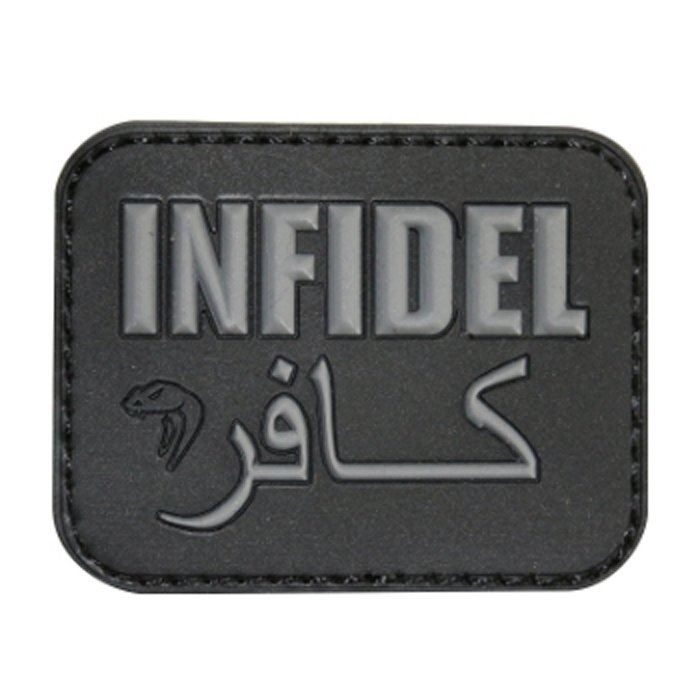 Patch Infidel Rubber Black