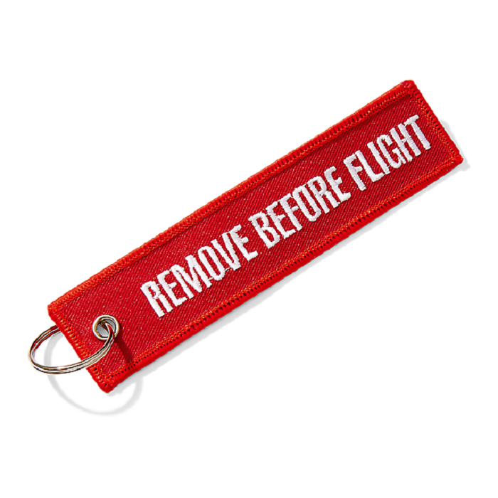 Sleutelhanger Remove Before Flight