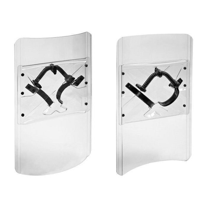 Impact Resistant Police Shield