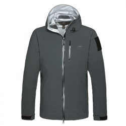 Dakota Rain Jacket Darkest Grey
