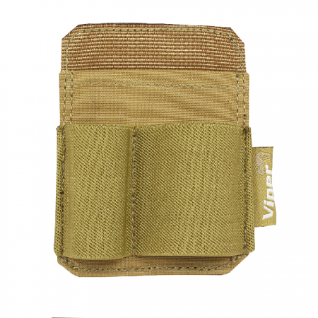 Accessory Holder Patch Coyote