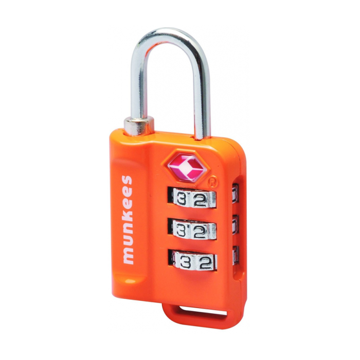TSA Combination Lock Orange