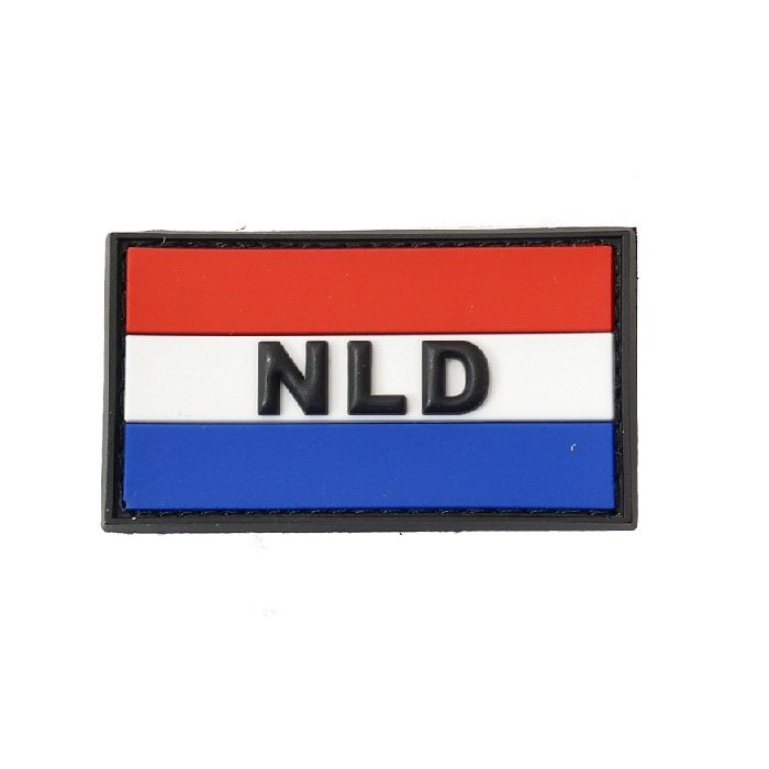 Netherlands Rubber Patch
