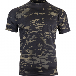 Mesh-tech T-Shirt Multicam Black