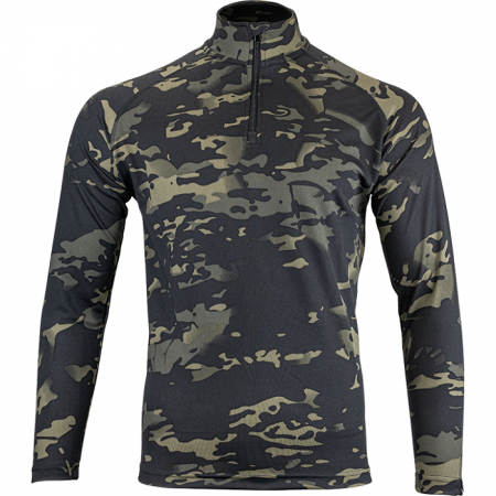 Mesh-tech Armour Top Multicam Black